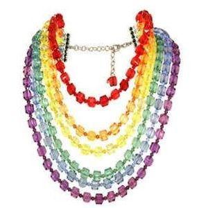 Tarina Tarantino Jewelry - ISO Tarina Tarantino Oz collectn Rainbow necklace